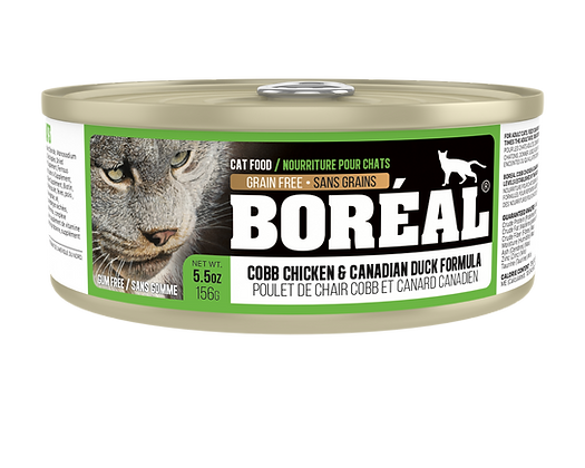 BORÉAL COBB CHICKEN AND CANADIAN DUCK (150g)
