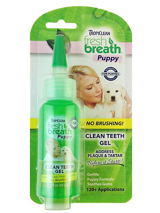 Fresh Breath Puppy Clean Teeth Gel (2oz)