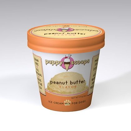 PUPPYSCOOPS ice cream mix - Peanut Butter