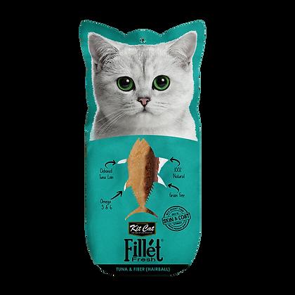 Kit Cat Fillet Fresh Tuna & Fiber (Hairball)
