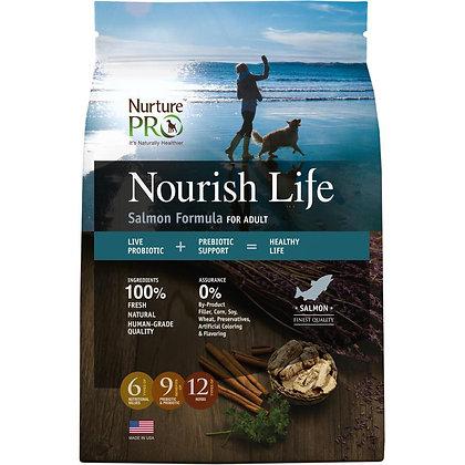 Nurture Pro Nourish Life Salmon Dry Food ( 4lb / 12.5lb / 26lb )
