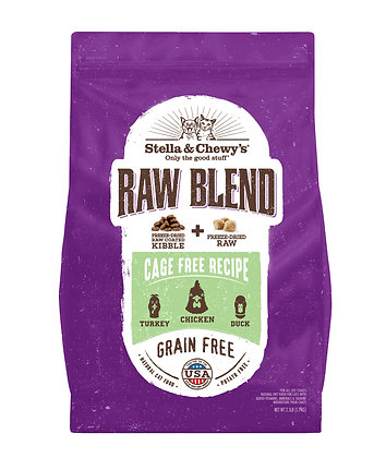 Stella & Chewy's Raw Coated Kibble Cage-Free Recipe ( 5lb/10lb )