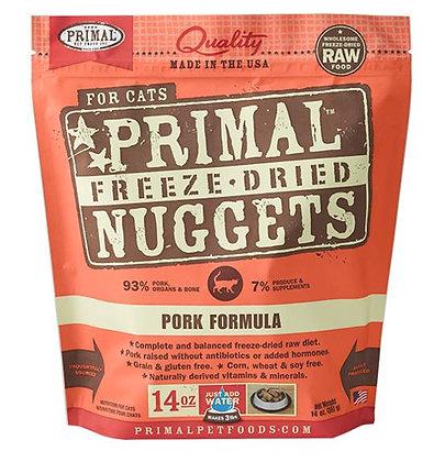 Primal FELINE Freeze-Dried Pork Formula ( 14oz X 2packets )
