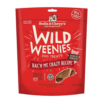 Stella & Chewy's Bac'n Me Crazy Bacon Wild Weenies (3oz)