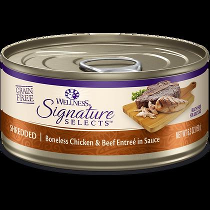 Wellness Signature Shredded Chicken & Beef ( 5.3oz )