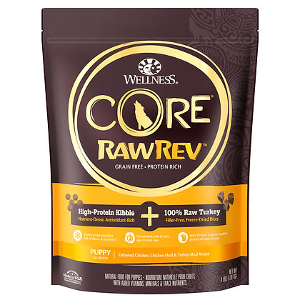 Wellness Core RawRev Puppy Original + 100% Raw Turkey ( 4lb / 10lb )