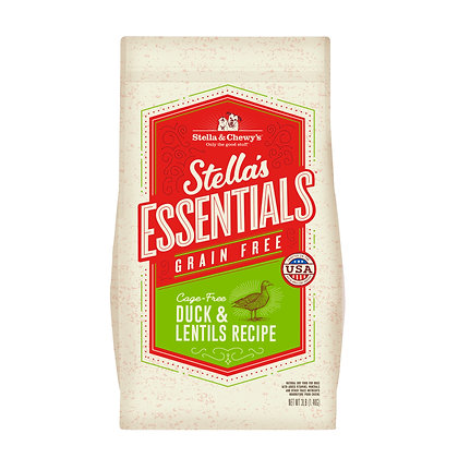 Stella & Chewy's Essentials Grain Free Duck & Lentils Recipe