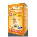 Natural Pet Natural Seaweed Calcium Plus Vitamin C & D Tablet ( 60 tablets )