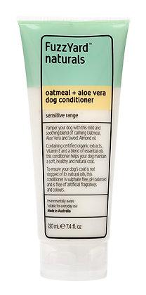 Fuzzyard Oatmeal + Aloe Vera Sensitive Dog Conditioner (220ml)