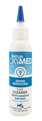 TropiClean OxyMed Ear Cleaner (118ml)