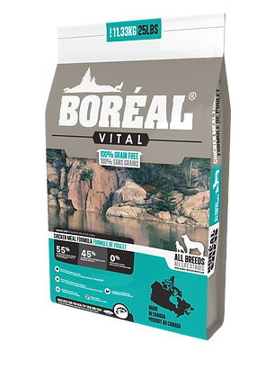 BORÉAL VITAL CHICKEN MEAL - GRAIN FREE (2.26kg)