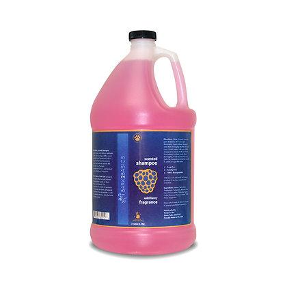 Bark 2 Basics Wild Berry Scented Shampoo ( 1 Gallon )