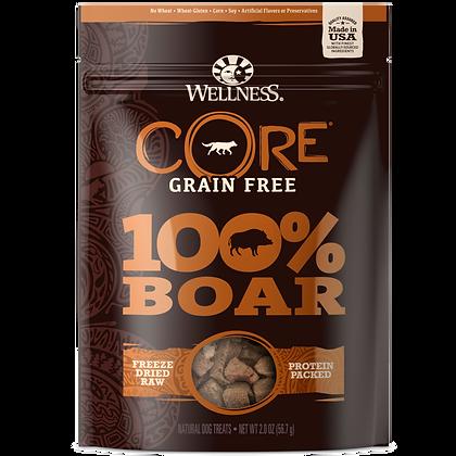 Wellness Core Boar 100% Freeze Dried Treats (2oz)