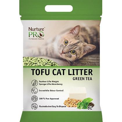 Nurture Pro Tofu Cat Litter Green Tea ( 6L )