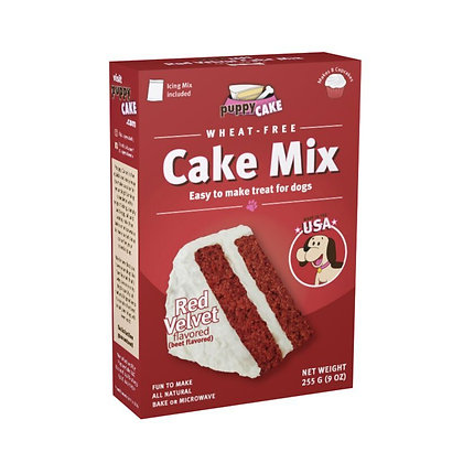 Puppy Cake Red Velvet flavoured (wheat-free)
