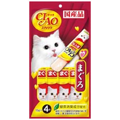 Ciao Maguro Tuna Stick in Jelly Cat Treats