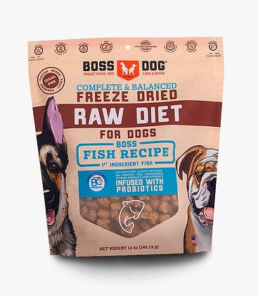 Boss Dog Brand Freeze Dried Meal Fish Recipe (12oz)