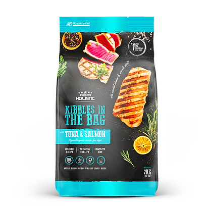 Absolute Holistic Kibbles In The Bag Tuna & Salmon