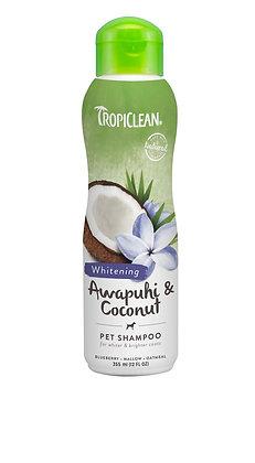 Tropiclean Awapuhi & Coconut Shampoo (Whitening)