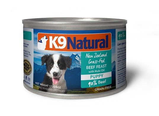 K9 Natural Canned Dog Food – Puppy ( 170g / 370g )