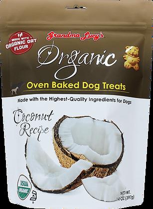 Grandma Lucy's Organic Oven Baked Dog Treats Coconut ( 14oz )