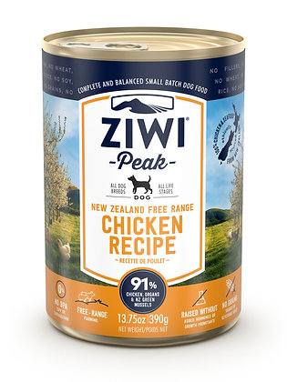Ziwi Peak Chicken Canned Dog Food ( 390g )