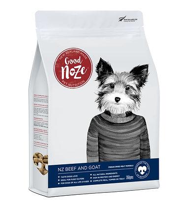 Good Noze Barkley Freeze Dried NZ Beef & Goat ( 350g )