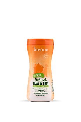 Tropiclean Natural Flea & Tick Carpet & Pet Powder (11oz)