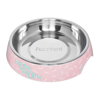 Fuzzyard Featherstorm Melamine Cat Bowl