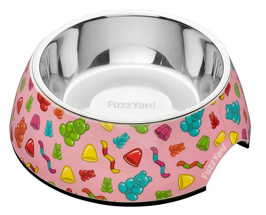 Fuzzyard Jelly Bears Easy Feeder Bowl