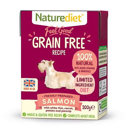 Naturediet Feel Good Grain Free Dog Food Salmon ( 200g/ 390g )