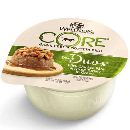 Wellness Divine Duos Chicken & Turkey ( 2.8oz )
