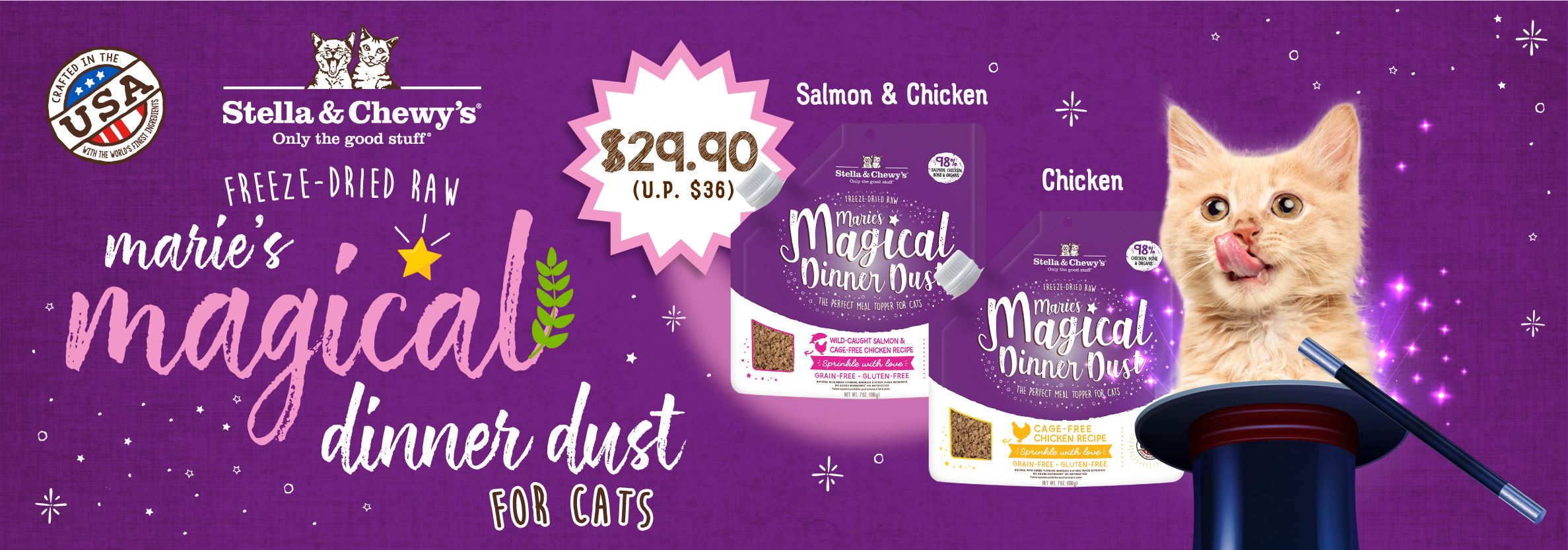 Cat Magical Dinner Dust - Launch Promo B