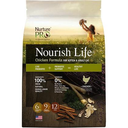 Nurture Pro Nourish Life Chicken Formula Kitten & Cat Dry Food( 300g/4lb/12.5lb)