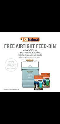 K9 Natural Free Airtight Feed Bin Bundle