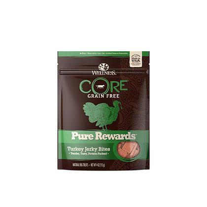 Wellness Core Pure Rewards Turkey Jerky Bites (4oz)