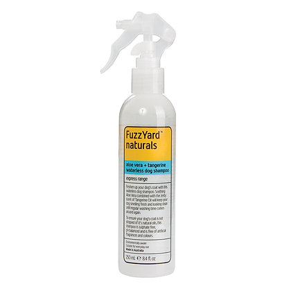 Fuzzyard Aloe Vera + Tangerine Express 2in1 Waterless Dog Shampoo (250ml)