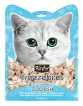 Kit Cat Freeze Bites Cod Fish Freeze Dried Cat Treats 15g