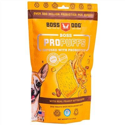Boss Dog Brand Propuffs Treats Peanut Butter Flavor (170g)