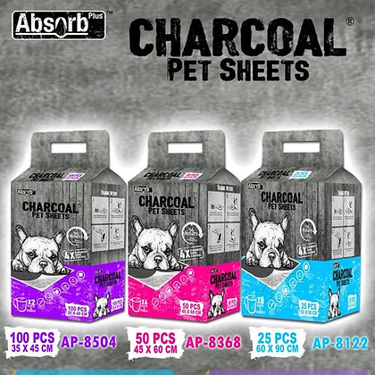 Absorb Plus Charcoal Pet Sheets ( 25pcs / 50pcs / 100pcs )