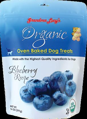 Grandma Lucy's Organic Oven Baked Dog Treats Blueberry ( 14oz )