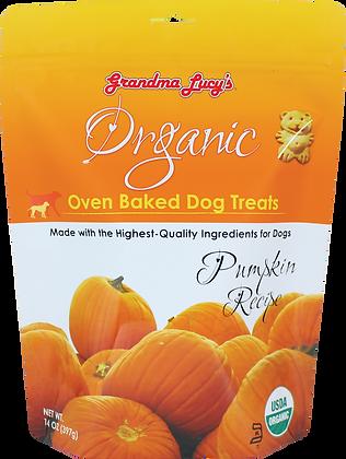 Grandma Lucy's Organic Oven Baked Dog Treats Pumpkin ( 14oz )