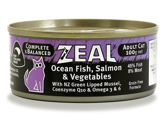 Zeal Ocean Fish, Salmon & Vegetables ( Adult ) 100g