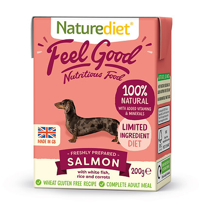 Naturediet Feel Good Dog Food Salmon ( 200g/ 390g )