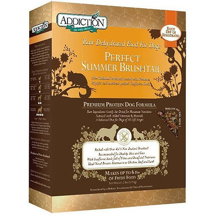 Addiction Dog Dehydrated Perfect Summer Brushtail ( 2lb / 8lb )