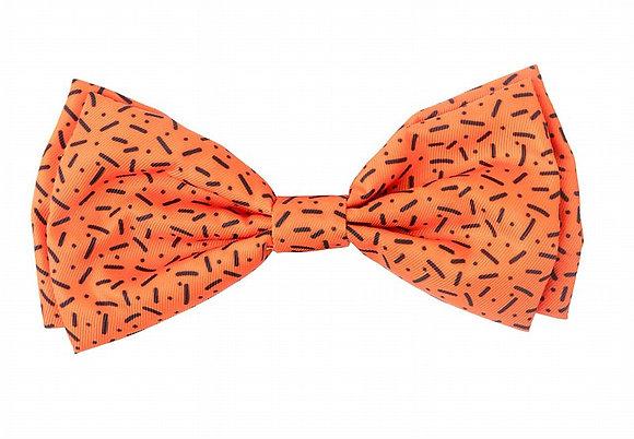 Fuzzyard Orange Bowtie