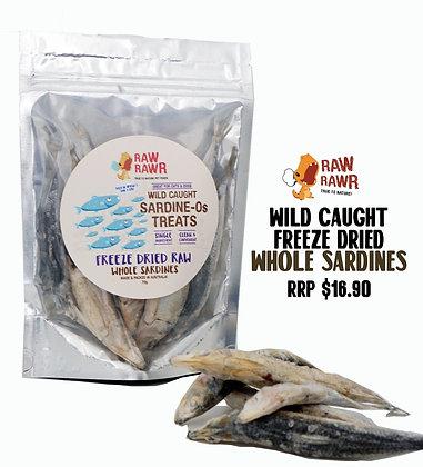 Raw Rawr Freeze Dried Raw Whole Sardines ( 70g )
