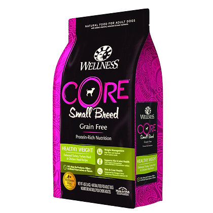 Wellness Core Small Breed Healthy Weight ( 4lb/ 12lb )