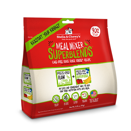 Stella & Chewy's Duck Goose Superblends Meal Mixers ( 16 oz )