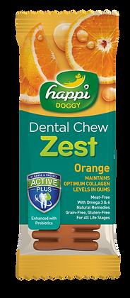 Happi Doggy Gluten Free 4inches Orange Dental Chew